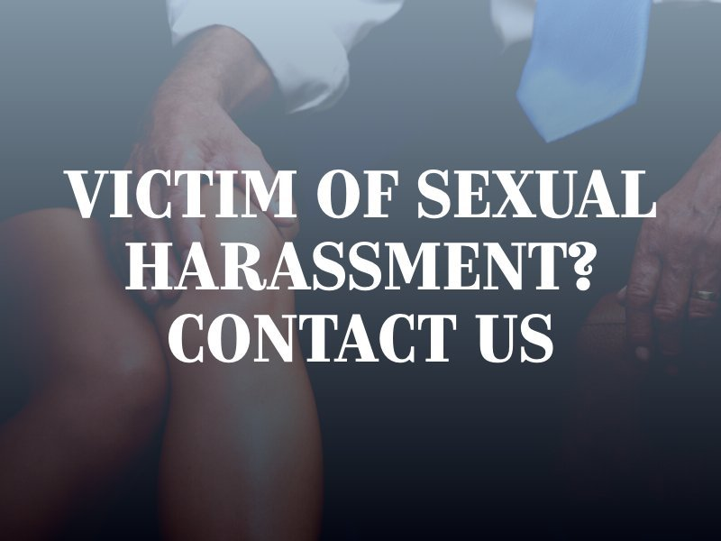 California Sexual Harassment Lawyer